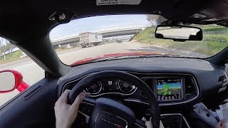 2017 Dodge Challenger GT AWD (AT) - POV City Drive
