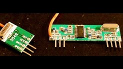 433Mhz RF LINK KIT TUTORIAL BASCOM & AVR