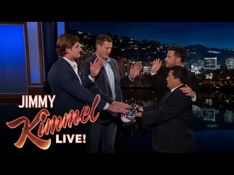 Jimmy Swears in Chargers Philip Rivers and Joey...