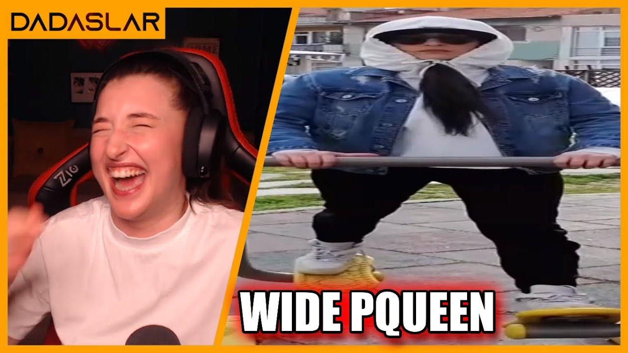 Pqueen - Wide Pqueen Walking İzliyor !