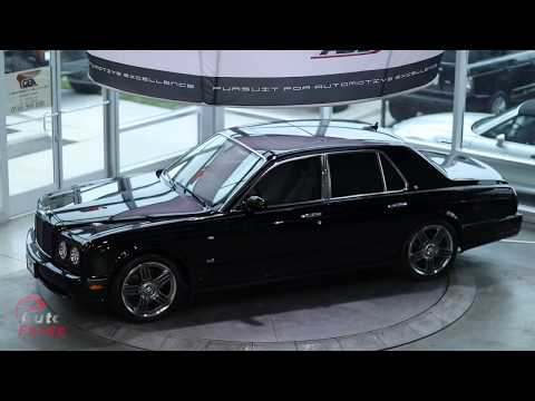 The Last Bentley Arnage Ever Produced found in Saudi Arabia! Final Series Edition