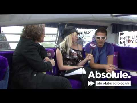 The Ting Tings Interview: V Festival 2009 on Absolute Radio