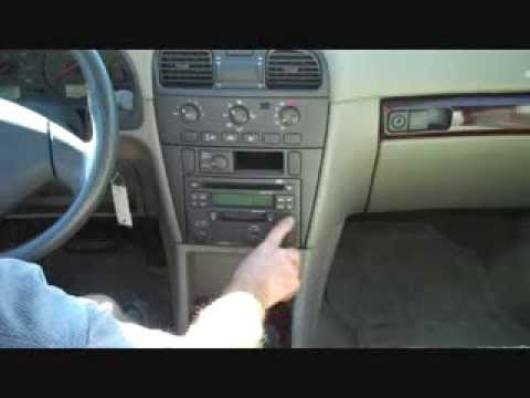 Volvo S40 Car Stereo Removal and Installation