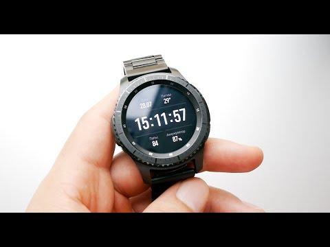 Впечатления от часов Samsung Gear S3 frontier