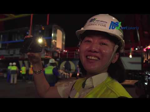 Kemajuan Proyek MRT Jakarta per 30 April 2018