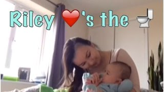 Riley Loves The Potty : Vlog