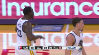 golden state warriors at los angeles lakers november 25 2016
