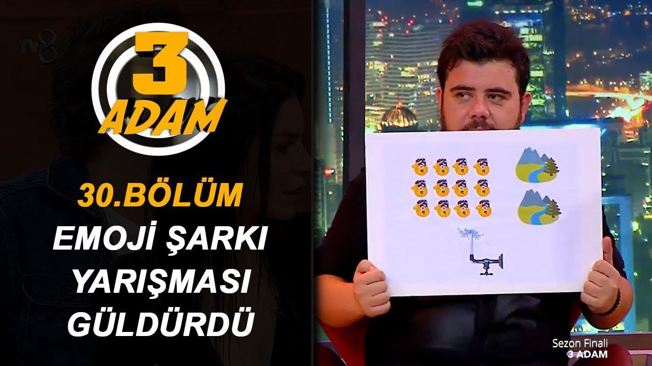 3 Adam ve Konuklarından Emoji Şarkı Yarışması! | 3 Adam