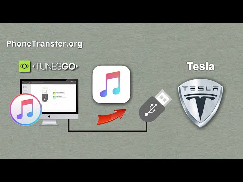 How to Put iTunes Music on your Tesla Car, Sync Songs from iTunes to Tesla Car