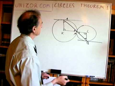 Unizor - Geometry2D - Circles - Theorems 1
