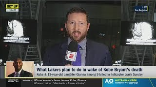 Dave McMenamin discusses what LeBron, Lakers plan to do in wake of Kobe Bryant's death