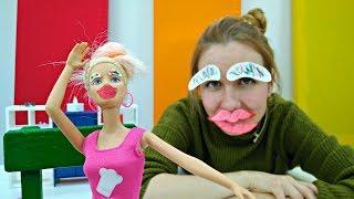 Видео Барби: фотографии на визу. Макияж от стилиста