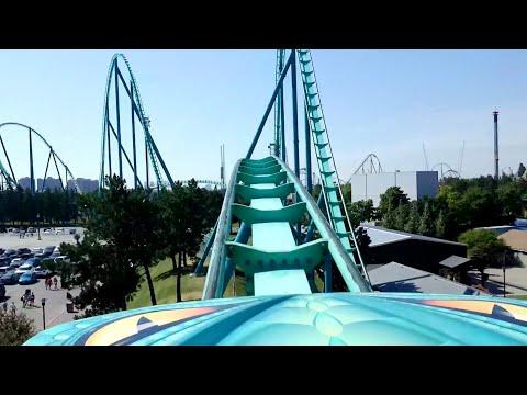 Leviathan Front Seat POV 2018 FULL HD Canada's Wonderland