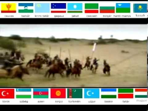 Turken in Europa- Europese rijk van de Hunnen  - Huns and  Turkic peoples