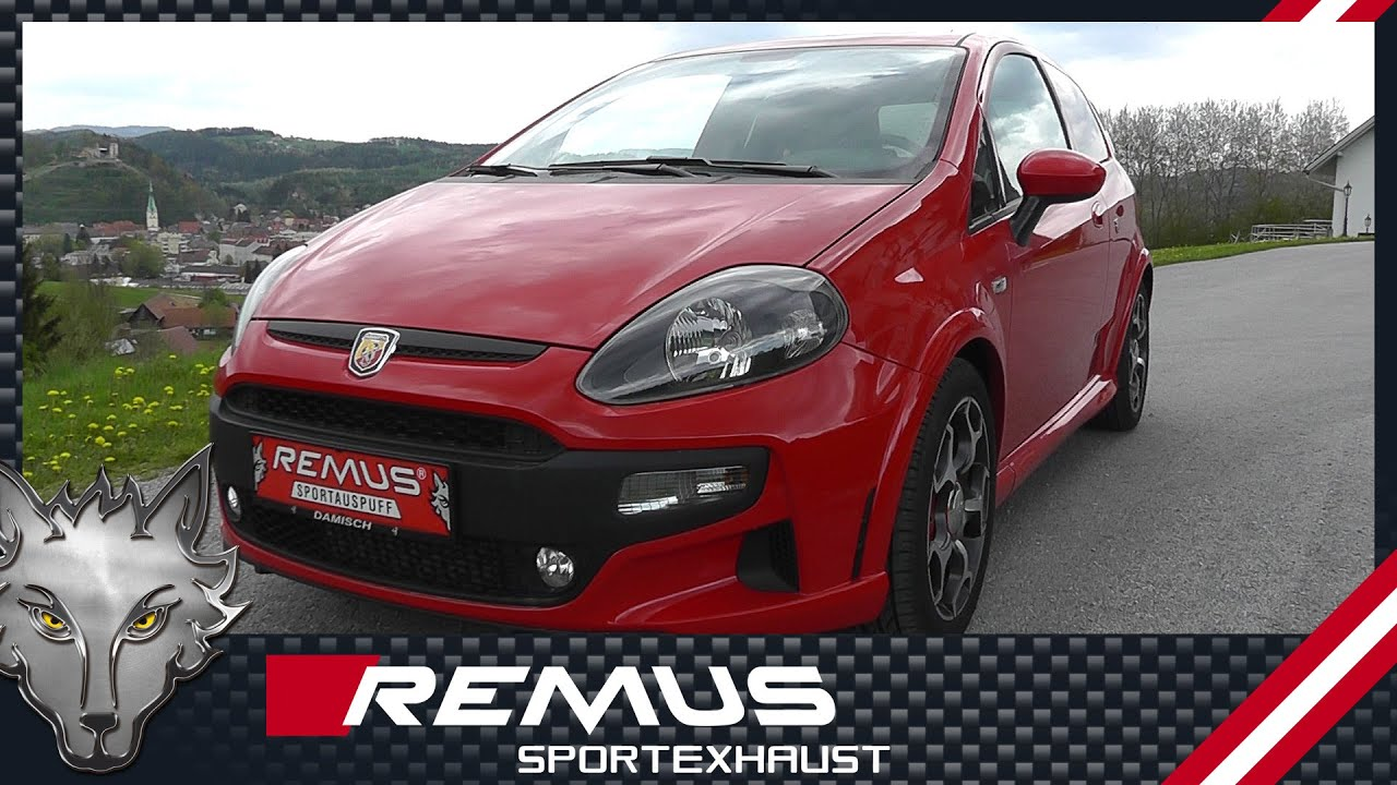 fiat punto evo abarth type 199 2011 with remus sport. Black Bedroom Furniture Sets. Home Design Ideas