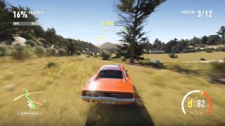 "Forza Horizon 2 Car Build : Dodge Charger ""Dukes of Hazzard General Lee"""