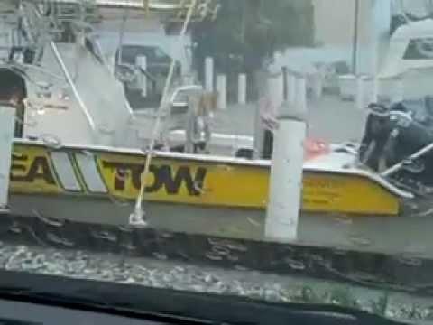 Tropical Storm Debby Visits Apalchicola