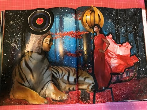 Altered Mixed Media Book 1-Inspired by DeDe Willingham
