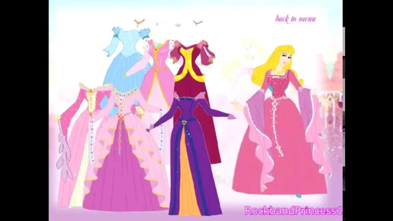 Juegos de vestir princesas - YouTube