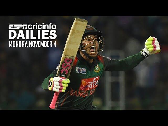 Mushfiqur fifty leads Bangladesh to historic win