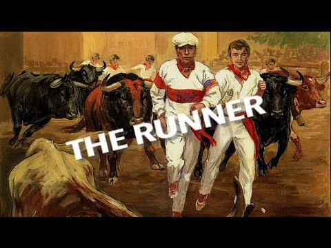 """THE RUNNER "" - (Classic San Fermin film)  ♡"