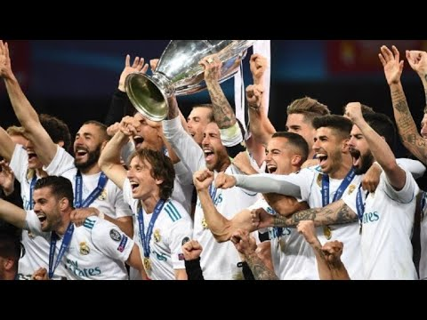 Real Madrid gana la Liga de Campeones por tercera vez seguida