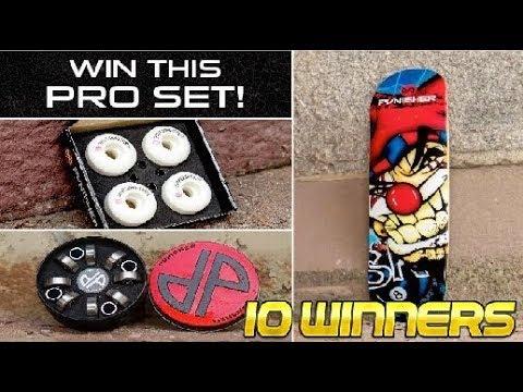 Pro Set Punisher Skateboards Giveaway! (10 WINNERS)