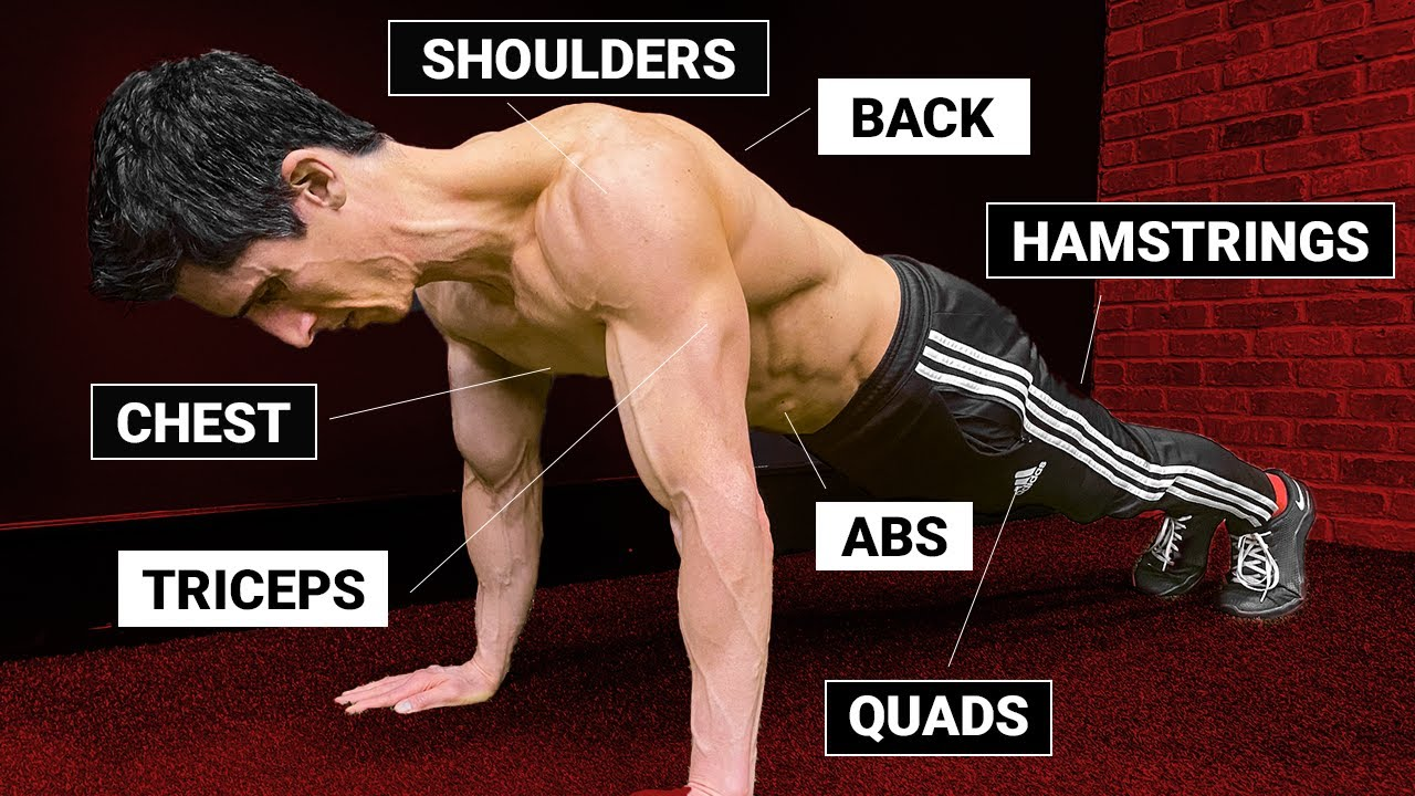 How to Hit every  Muscle with a Pushup!