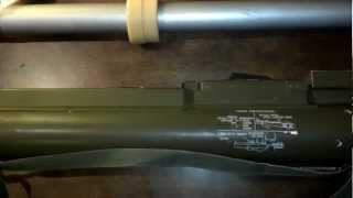 viewer request video 8 m72 law rocket launcher with m190 35mm sub caliber adapter