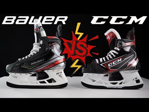Bauer Vapor 2X Pro vs CCM JetSpeed FT2 Hockey Skates comparison review
