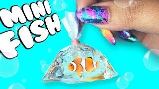 MINIATURE FISH in a BAG! ♥ DIY