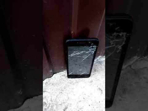Убитый застпеленый телефон