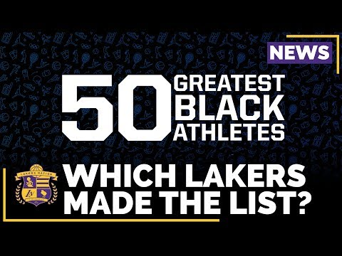 Kobe Bryant Snubbed In 50 Greatest Black Athletes Of All-Time?