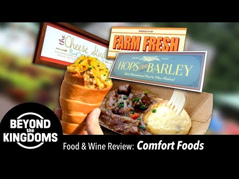 Epcot Food and Wine Festival Best Comfort Foods