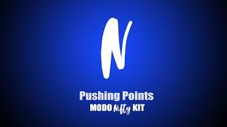 Pushing Points | Modo Nifty Kit
