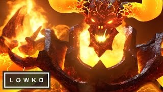 Heroes of the Storm: Ragnaros Gameplay! (Ragnaros in Heroes)