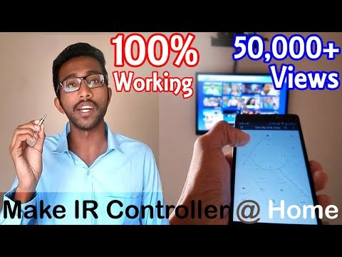 How To Make A Remote Controller At Home Using An Android Smartphone Without Inbuilt IR Blaster