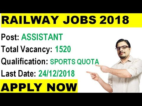 ♦️ Central Railway Recruitment 2018|| Govt jobs Under Sports Quota || Rojgar Avsar