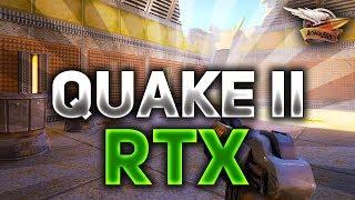 Quake 2 RTX - Это игра 1997 года, которую ПЕРЕДЕЛАЛИ в новых технологиях Ray tracing