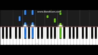 Скачать Faded На пианино