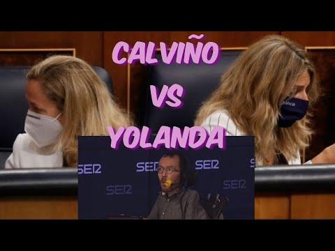 Echenique y la polémica entre CALVIÑO Y YOLANDA por la Reforma Laboral