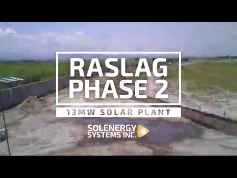 Solenergy - RASLAG 13MW Solar Plant Construction
