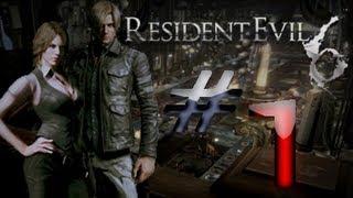 Biohazard 6 - Resident Evil 6 Detonado (Walkthrough) Leon Parte 1 HD