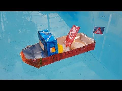 Faça um Barco a Vapor com Latinha de Coca-Cola!!