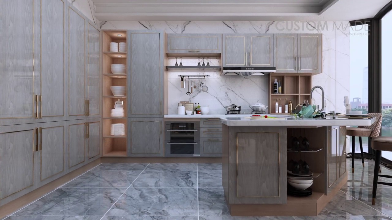 Modern Kitchen Cabinet Design Trend 2020 Rebon Cabinet Factory Youtube