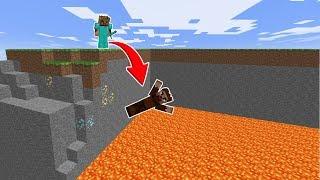 FAKİR LAVLARIN İÇİNE DÜŞÜYOR! 😱 - Minecraft
