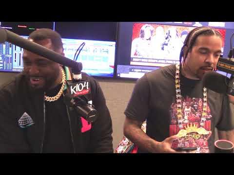 Lil Flip Freestyle with BayBay @K104FM