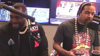 Lil Flip Freestyle with BayBay @K104FM