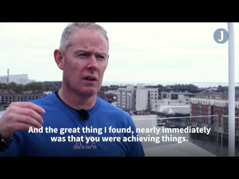 Ultra marathon runner Gary Seery turned to exercise to help fight depression