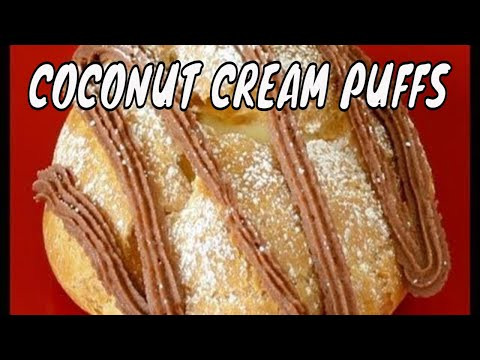 How to Make Coconut Cream Puff, How to Make Pate a Choux
